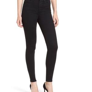 Levi's Mile High Super Skinny Jeans (Black)